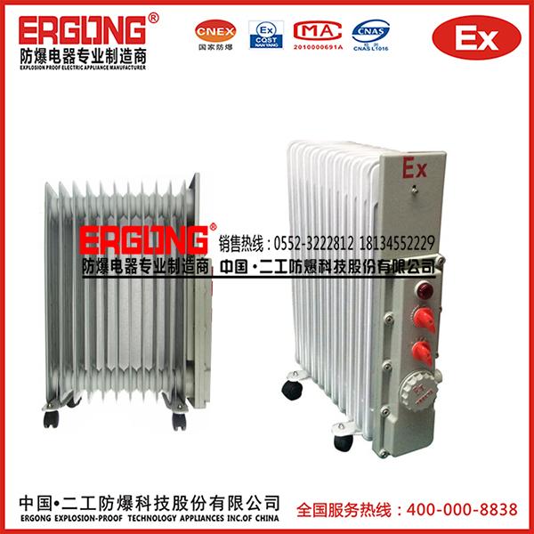 工业防爆电热油汀专用CD高温导热油加热取暖器制造商